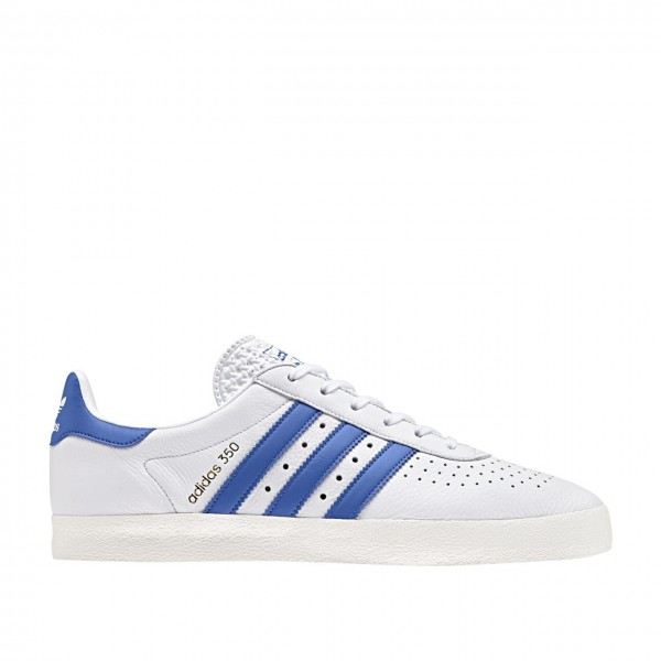 adidas 350 Leather Blancas/Azul Zapatillas - Cq277...
