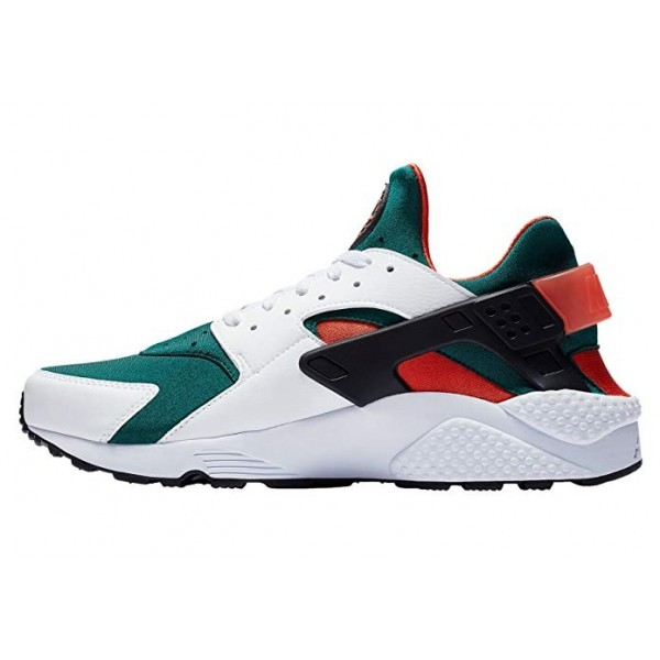 Nike Air Huarache Blancas/Negras-Rainforest - AT42...