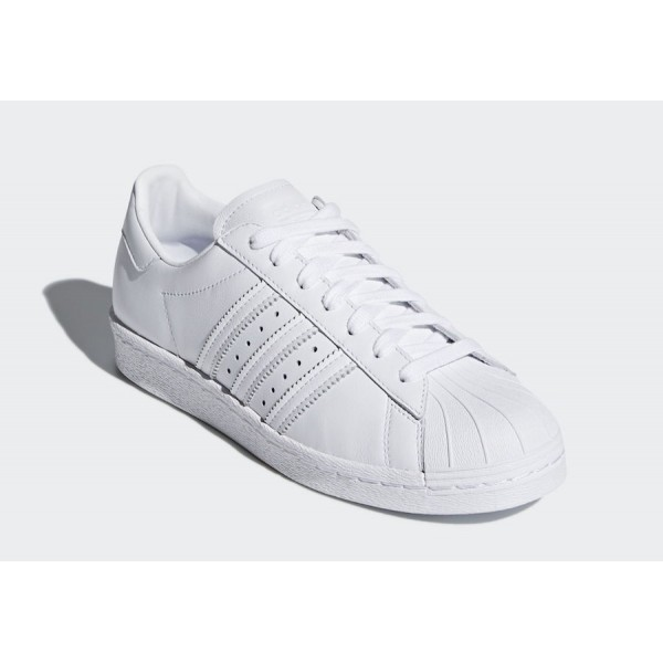 adidas Originals Superstar Blancas/Rojas - CQ3009