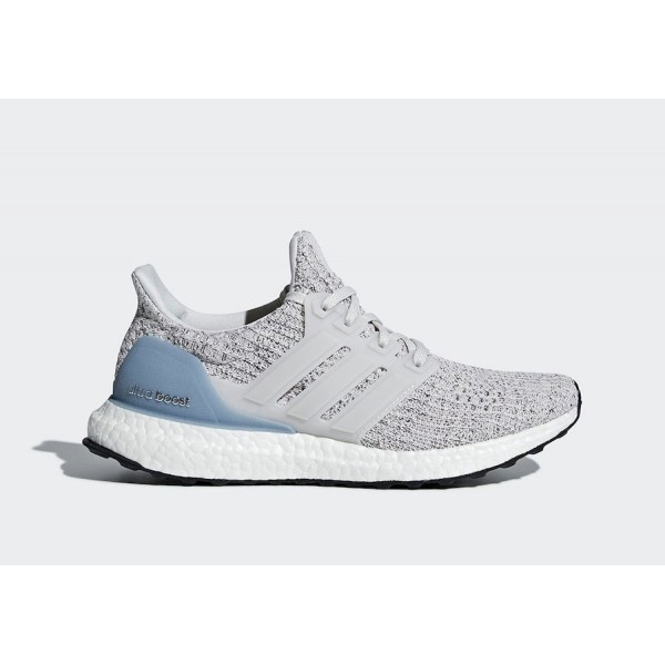 adidas Originals Ultra Boost 4.0 Grises/Azul - BB6...
