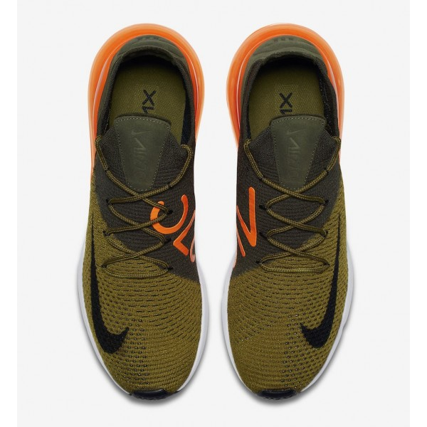 Nike Air Max 270 Flyknit Olive/Negras - AO1023-301